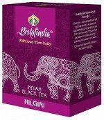 Чай чёрный листовой Nilgiri Indian Black Tea Bestofindia 100 гр.