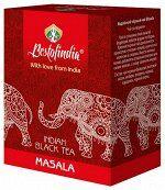 Чай чёрный листовой Масала (со специями) Masala Indian Black Tea Bestofindia 100 гр.