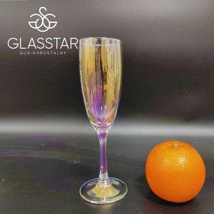Набор бокалов Glasstar Лиловая Дымка / 6 шт. 170 мл