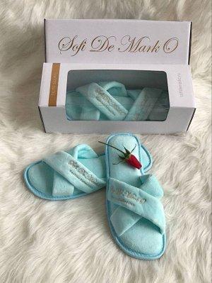 Тапочки (голубые) SofiDeMark