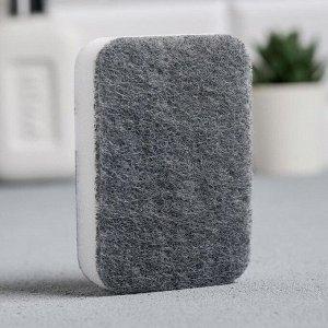Губка для мытья посуды «Да прибудит с тобой сила» 9х6 см