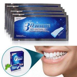 Отбеливающие полоски для зубов 14 пакетов