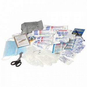 Аптечка первой помощи работникам ФЭСТ, пластиковый шкаф, состав - по приказу №169н