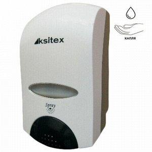 Диспенсер для жидкого мыла-пены KSITEX, наливной, белый, 1 л, FD-6010