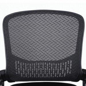 """Кресло BRABIX """"Next MG-318"""", с подлокотниками, хром, черное, 531834"""