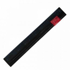Резак роликовый BRAUBERG R3, на 3 л, длина реза 320 мм, безопасное лезвие, в блистере, А4, 531118