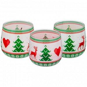 Ароматическая свеча в стакане 'новогоднее настроение'