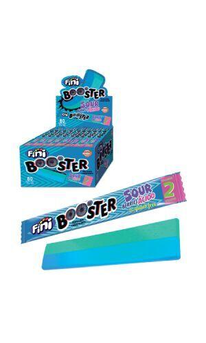 Кислая жевательная конфета Fini Booster Sour Berries Acido со вкусом ягод, 10 г