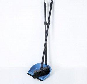 """Набор для уборки """"Фьюджи"""" 2 предмета: совок, щетка для пола"""