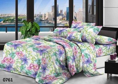™ВИКТОРИЯ - постельное белье от 775 руб, текстиль, трикотаж  — КПБ Мако-Сатин 3D от 775 руб. — Постельное белье