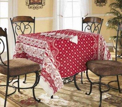 И подушки, и одеяла для тебя — Скатерти, дорожки на стол