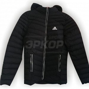 Куртка зима AD капюшон мех дет чёрн (х2)