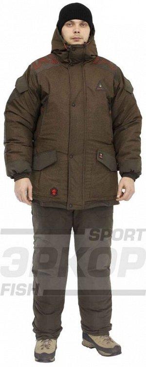 Костюм зима Азимут Gorniy-XXX Silent Canada Thermo-Wool TR  t-45 коричн-т.коричн (х7)
