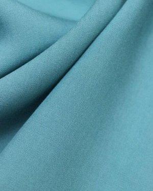 Штапель цв.Светлая морская волна, ш.1.45м, вискоза-100%, пл.110гр/м.кв