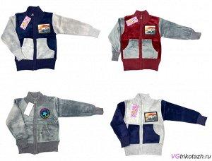 Кофта Ткань: Велюр. Состав: Кофта-свитер велюровая 10 - размер 80-86;52 12- размер 86-92;52 14- размер 98-104;56