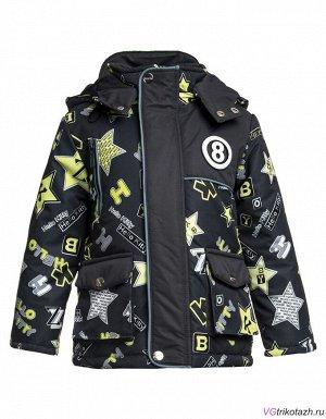 Куртка Состав: 100% ПЭ. Ткань: . Куртка отBonitoKids Мембрана100% ПЭ Куртка для мальчика Теплая верхняя одежда из полиэстера прекрасно выполняет свою главную задачу – защищает малыша от холода (тепл