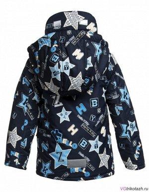 Куртка Ткань: . Состав: 100% ПЭКуртка отBonitoKids Мембрана100% ПЭ Куртка для мальчика Теплая верхняя одежда из полиэстера прекрасно выполняет свою главную задачу – защищает малыша от холода (теплоу