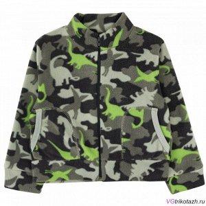 Куртка Ткань: Флис. Состав: *Состав:Футер-двунитка (70% хлопок, 24% полиэстр, 6% ПУ)
