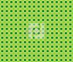 Вафельное пляжное полотенце клетка новая зеленая 80/150 пляжные