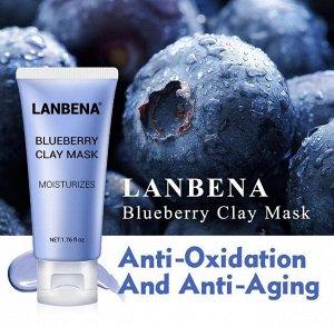 Питательная маска для лица Lanbena Blueberry Mask