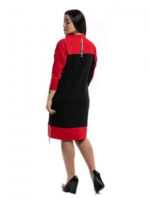"""790 Платье """"Красный"""""""