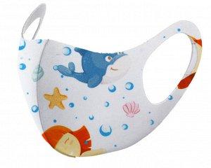 Детская защитная маска Морская