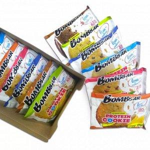 Bombbar  Печенье неглазированное овсяное FITNESS (не содержит сахара)