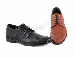 0073 Светло-коричневый Be cool. Мужские ботинки Дерби. Натуральная кожа. Испания. (арт.0073)