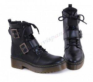 Casual. Женские ботинки. Натуральная кожа. История. (арт.501CA)