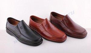6013TG коричневый COMODO' S SPORT.Мужские туфли СЛИПОНЫ.Спецразмер.Натуральная кожа.Испания.Арт. 6013 TG