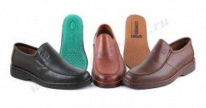 6076 Светло-коричневый COMODO' S SPORT.Мужские туфли СЛИПОНЫ.Натуральная кожа.Испания.(арт.6076 )