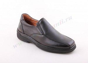 6986 коричневый PRIMOCX.Мужские туфли СЛИПОНЫ.Натуральная кожа.Испания.(арт. 6986)