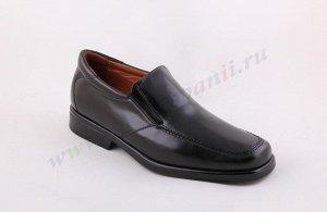 8133 коричневый MARTTELY DESIGN.Мужские Туфли Слипоны. Натуральная кожа. Испания.(арт.8133 )