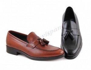 10626 коричневый Marttely Design. Мужские туфли Лоферы. Натуральная кожа. Испания. (арт. 10626)