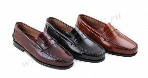 300 Светло-коричневый CASTELLANOS. Мужские туфли Лоферы.Натуральная кожа. Испания.