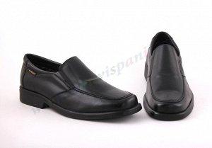 305BL черный BLANDO'S 305 BL Мужские Туфли без шнурков. Натуральная кожа. Испания.