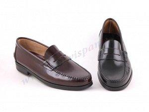 Marttely classic. Мужские мокасины. Натуральная обувь. Испания. (арт.350AL)