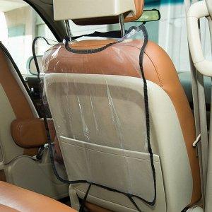 Накидка на спинку сиденья прозрачная водо- и грязеотталкивающая от детей