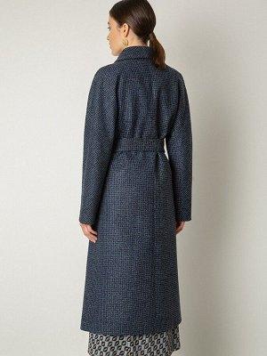 Пальто-Халат из структурной ткани R046/tolerys
