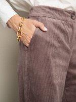 Вельветовые брюки D163/sempit