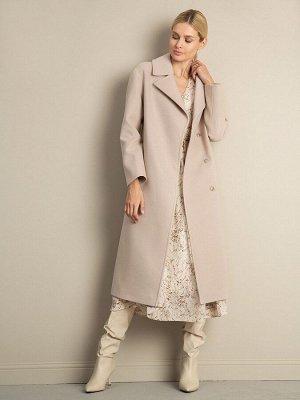 Пальто с поясом R083/baker