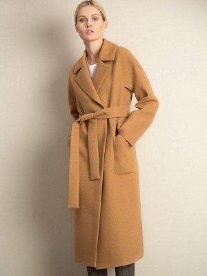 Пальто с поясом R084/tiner