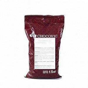 Капли термостабильные Chocovic темные 1,5 кг (CHD-DR-854CHVC-26B)