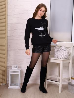 Свитшот Состав: хлопок92%, лайкра8%; Материал: рибана с начесом Свитшот удобен и практичен, при этом данный предмет одежды является модным и современным. Такая модель понравятся как детям так и подрос