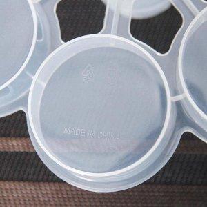 Контейнер для кондитерских изделий, 29?24 см, 24 ячейки, переносной, цвет МИКС