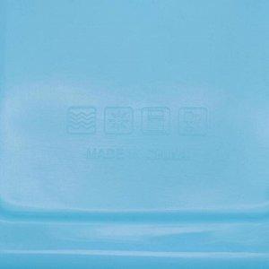 Миска с крышкой «Клумба», 22,5?17 см, цвет МИКС