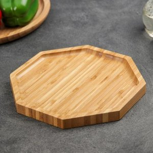 Блюдо для подачи «Бамбук», d=19 см