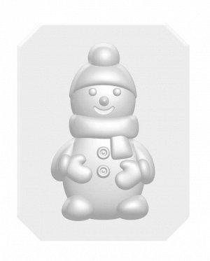 """Набор для изготовления мыла """"Снеговик"""""""