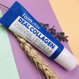 Бальзам для губ с коллагеном FarmStay Real Collagen Essential Lip Balm, 10ml
