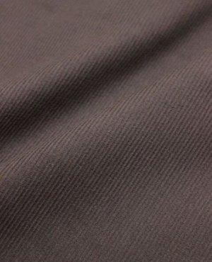 Микровельвет цв.Темно-коричневый, ш.1.45м, хлопок-100%, 220 гр/м.кв